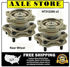 2 DTA Rear Wheel Hub Bearing Assembly Pair 5 Lug ABS for 2004-2009 Nissan Quest
