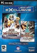 PC Spiel Age of Mythology Gold Edition inkl.The Titans Erweiterung DVD Vers. NEU