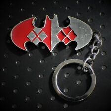 Harley Quinn ARKHAM Keychain Joker BATMAN DC Comics Full Metal cosplay US seller