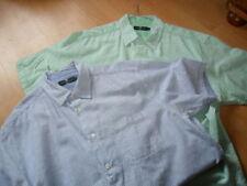 Striped Short Sleeve Multipack Formal Shirts for Men