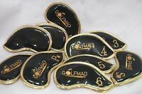 10 Golf Mad Waterproof Iron Covers Headcovers for Ping Titleist Cobra ONLY