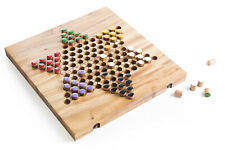 Kubiya Games | Chinese Checkers - family board game, strategy wooden board game