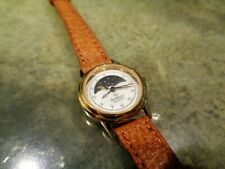 Vintage Rare Armitron V259A Moon Stars Day Night Cycle Watch Ladies Phase