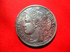 RARE - Très belle pièce 5 Francs argent Cérès 1850 BB - état TTB
