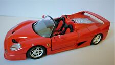 Burago Ferrari F-50 red 1/24 scale model (1995) - RB0132