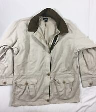 Women's Tan Patagonia Summer Mac Trench Coat - Vintage Style 14 *1P AUCTION*