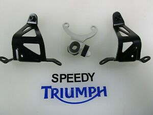 TRIUMPH DAYTONA 675 & R FAIRING BRACKETS & INFILL BRACKETS FITS 2013 ONWARDS