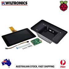 Raspberry Pi 7inch Touchscreen Display & Black Enclosure RPiBD3000