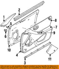 CHRYSLER OEM Front Door-Mirror Filler Right 4630402