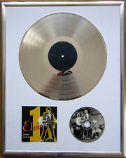 "Elvis Presley 1st Live gerahmte CD Cover +12"" Vinyl goldene/platin Schallplatte"