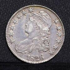 1826 Bust Half Dollar - VF (#29989)