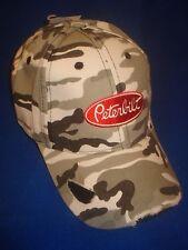 Peterbilt Hat:         Distressed Winter Camo Trucker's Cap     Free Ship in USA