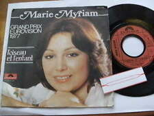 MARIE MYRIAM 1977 > GRAND PRIX EUROVISION < 45rpm 7ins JUKEBOX VINYL FRENCH