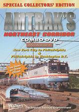 Amtrak's Northeast Corridor Combo DVD Pentrex NY-DC Penn CETC tour K tower AEM7