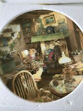 Wind in the Willows Wedgewood Collectors Plate Fireside Tales Eric Kincaid