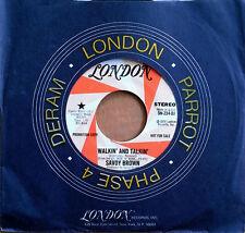 SAVOY BROWN - WALKIN' AND TALKIN' - STEREO & MONO VERSIONS - LONDON - PROMO 45