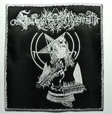 SATANIC WARMASTER ( white border )  EMBROIDERED  PATCH