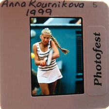ANNA KOURNIKOVA 1999 SUPER MODEL LOOKS TENNIS WTA ORIGINAL SLIDE 7
