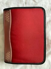 Franklin Covey Durable Sport Planner Compact Size Red