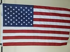 "USA 5X8' FLAG ""HIGH-WIND"" 2-PLY POLYESTER   NEW   US MADE  5 FT X 8 FT  AMERICAN"