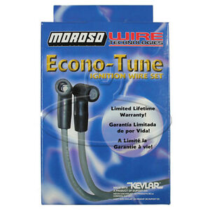 MADE IN USA Moroso Econo-Tune Spark Plug Wires Custom Fit Ignition Wire Set 8282