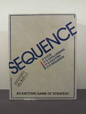 SEQUENCE GAME JAX LTD 1995 FACTORY SEALED - NEW - RARE