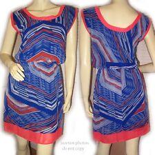 NEW Womens Sleeveless Dress S Women's Summer Dresses Sundress Multicolor Blue