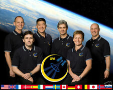 INTERNATIONAL SPACE STATION EXPEDITION 16 8x10 PHOTO