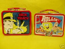 Sponge Bob and Dick Tracy MINI Lunch Boxes