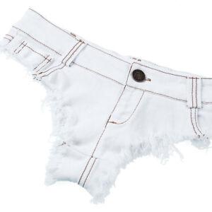 Sexy Women Mini Hot Pants Jeans Micro Shorts Denim Daisy Dukes Low Waist Shorts