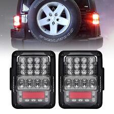 Brightest Osram LED Rear Brake Reverse Tail Lights for Jeep Wrangler JK TJ 07-17