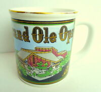 Grand Ole Opry Coffee Mug Souvenir
