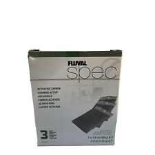 Fluval Spec Replacement Carbon  3 Pack New W/ Box Wear