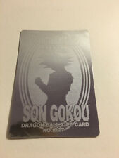 Dragon Ball Z PP Card Silver 1027