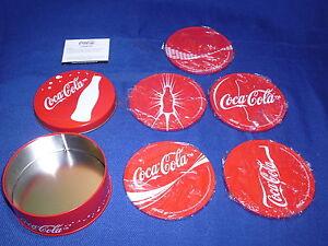 Vintage Coca Cola Coasters ( 1999 )