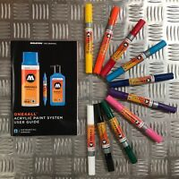 Molotow One4All 224 HS Acrylic Twin Tip Marker - Basic Set 1 - 10 Markers