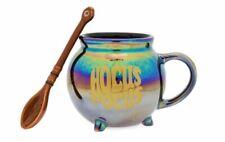 Disney Hocus Pocus Cauldron Mug with Broomstick Spoon ! NEW  Witches Spell HA HA