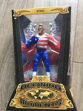 """WWE DMF59 la definición de momentos Sting 6"""" lucha libre figura de acción Sin Cordones Botas"""