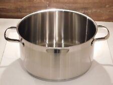 Silit Toskana Topf Edelstahl ohne Glas-Deckel Kochtopf 24 cm Induktion 5,7 Liter