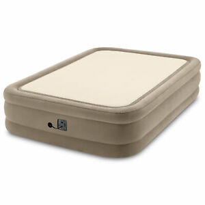 Intex 64477ED Queen Size Thermalux Airbed with Fiber-Tech Technology, Gold