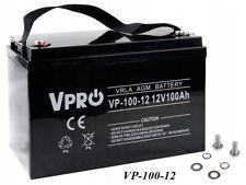 AGM GEL Akku Batterie VRLA 12V VPro 100Ah (C10) entspricht 120Ah (C10)