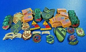 MILITARY PATCH 99 CENT AUCTION - YOU GET ALL 200 NEW PATCHES ARMY AIR FORCE SET