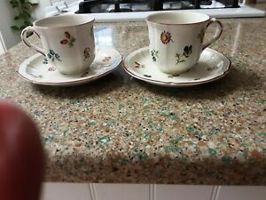 Villeroy and Boch Petite Fleur Cups and Saucers