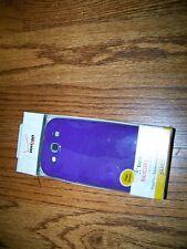 12 Samsung Galaxy S III Purple High Gloss Smooth Silicone Gel Case Cover Skin