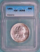 1921 AU-58 Alabama Centennial Commemorative Half