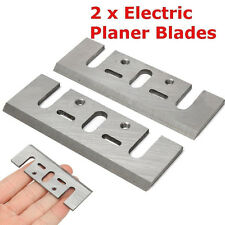 Sale 82mm Wood Planing HSS Electric Planer Blades Replaces Tool for Makita 1900B