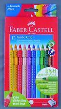 Faber Castell 12 Jumbo Grip Buntstifte Dicke wasservermalbare Buntstifte