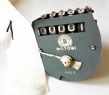 Ricambio contachilometri tachimetro MOTOBI MOD. Z d'epoca USATO ORIGINALE moto