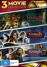 Chronicles of Narnia 3dvd Lion Witch & Wardrobe Prince Campaign Dawn Treader