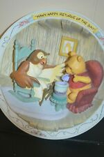 Bradford Exchange Winnie The Pooh And Friends Plate -Many Happy Returns